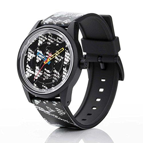 Q Q Solar Smile Unisex Solar Uhr mit Plastik armband Analog Quarz RP00J024