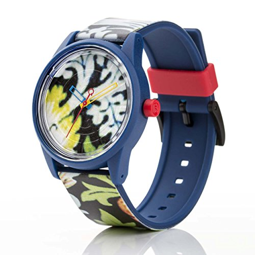 Q Q Solar Smile Unisex Solar Uhr mit Plastik armband Analog Quarz RP00J028