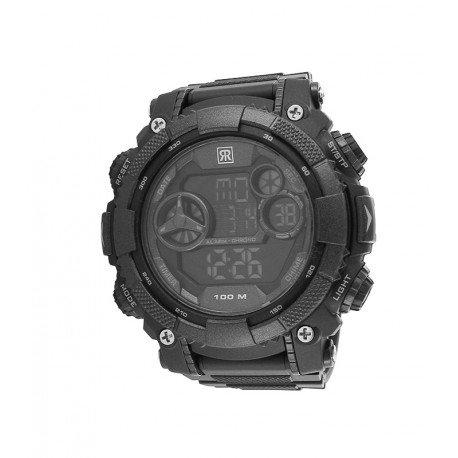 r fight homme automatique bracelet anderen Materialien silicone noir