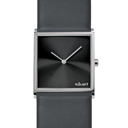 a b art Damen Armbanduhr Analog Quarz Leder E108
