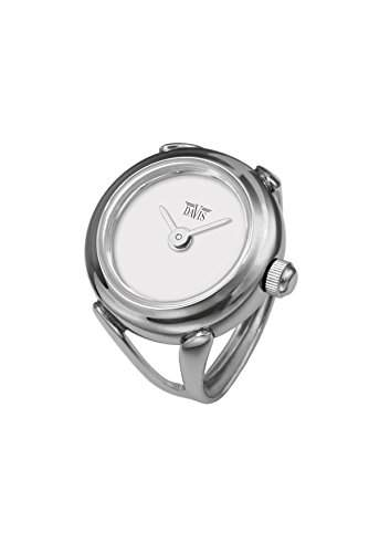 Davis - Ring Watch 4181 ? Ringuhr Damen - Ziffernblatt Weib - Verstellbar