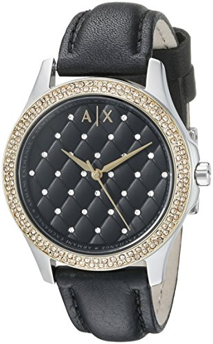 Armani Exchange Damen Hampton Analog Dress Quartz Reloj AX5246