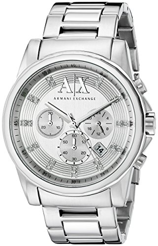 Armani Exchange Herren Analog Dress Quartz Reloj AX2505