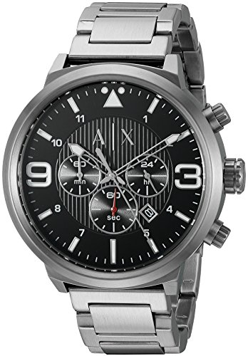 Armani Netz Me Up Armani Exchange Quarz Batterie Reloj AX1369