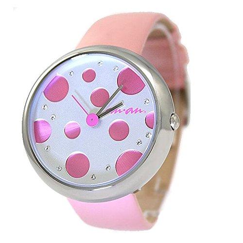 10 fw403d rund Wasser widerstehen Damen Frauen 100 getestet wasserabweisend Fashion Armbanduhr