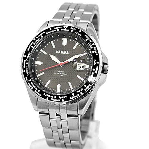 10 fw829b matt silber Band PNP matt silber Watchcase Wasser widerstehen IPS Elegante Armbanduhr