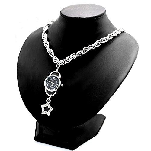 10 fw910 a natur glaenzend Silber Band PNP glaenzend Silber Watchcase Damen Fashion Armbanduhr