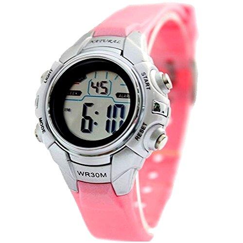 10dw121i Chronograph Hintergrundbeleuchtung Schwarz Luenette Wasser widerstehen Damen Frauen Digitale Armbanduhr