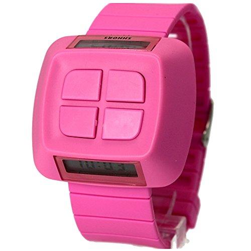 10dw387b violett Watchcase Datum Alarm Hintergrundbeleuchtung violett Luenette Junge