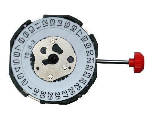 Miyota 2115 Quarz Uhrwerk mit Datum Batterie Einstellung Stem inklusive