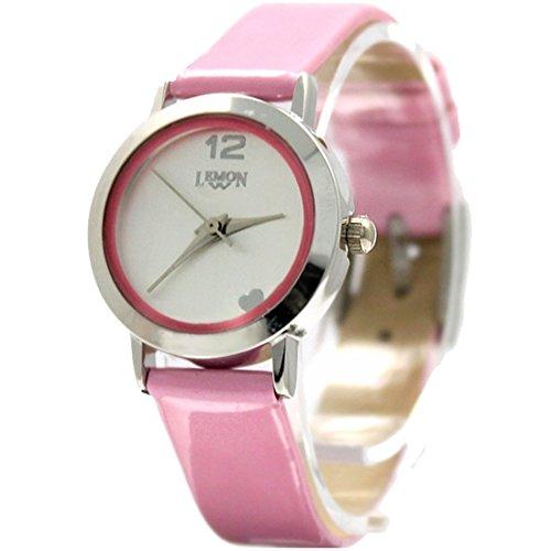 PNP glaenzende silberne Uhrgehaeuse Dame Frauen Japan Bewegungs 2035 Mode Uhr