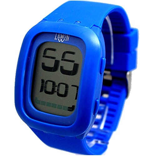 Blau Uhrgehaeuse Chronograph Datum Silikon Blue Band Jungen Maedchen Digitaluhr