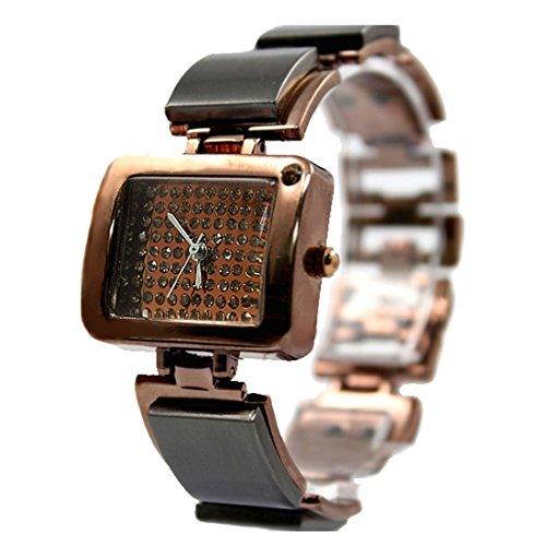 Brown Band Brown Dial Female Gut Elegant Design der neuen 2012 Armband Uhr