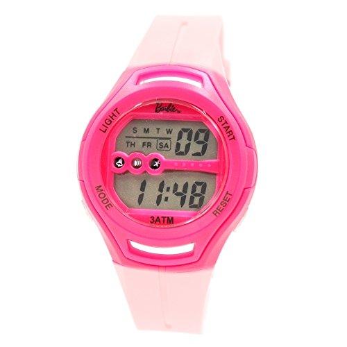 Chronograph Datum Alarm Hintergrundbeleuchtung Magenta Luenette Damen Damen Digitaluhr
