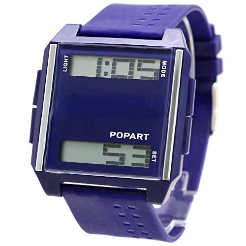 10dw331 a dunkelblau Watchcase Hintergrundbeleuchtung Damen Frauen 6 62 mm thinwatch Digitale Armbanduhr