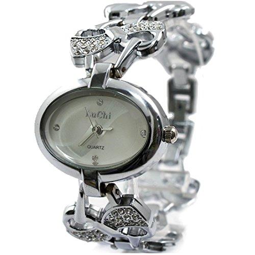 New Elliptic weissen Zifferblatt weibliches elegantes Design Neues 2013 Armband Uhr