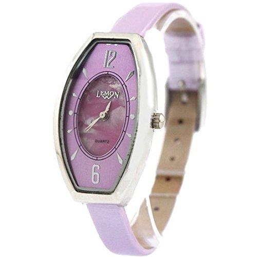 New Purple Dial Violet Band Violet Uhrgehaeuse Dame Frauen Mode Uhr