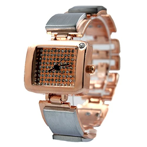 Rose Gold Ton Dial Female Very Nice Schoene Rose Gold Armband Uhr