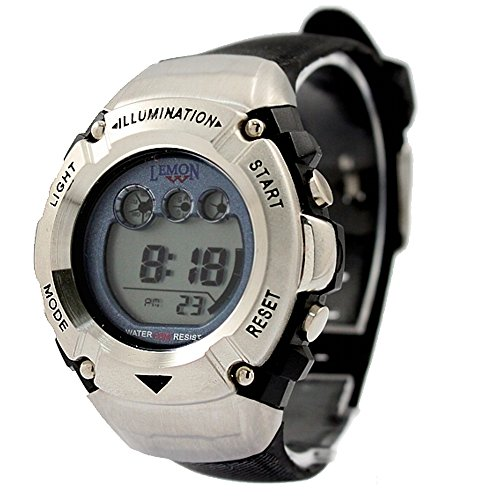 ukdw213le Chronograph Hintergrundbeleuchtung blau Luenette Wasser widerstehen Damen Frauen Digitale Armbanduhr