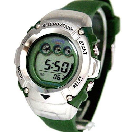 ukdw213lh Chronograph Datum Alarm Hintergrundbeleuchtung Wasser widerstehen Damen Frauen Digitale Armbanduhr