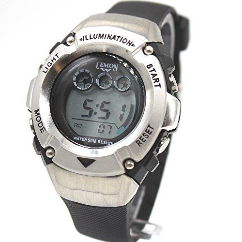 ukdw213li Chronograph Datum Alarm Hintergrundbeleuchtung Wasser widerstehen Damen Frauen Digitale Armbanduhr