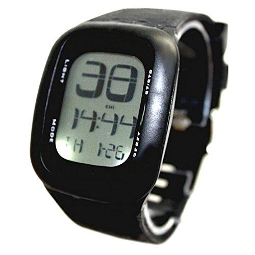ukdw410b schwarz Watchcase Datum Alarm Hintergrundbeleuchtung Unisex elegant Touch Digitale Armbanduhr