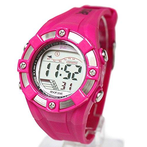 ukdw442b rund magenta Watchcase Chronograph Datum Alarm Wasser widerstehen Digitale Armbanduhr