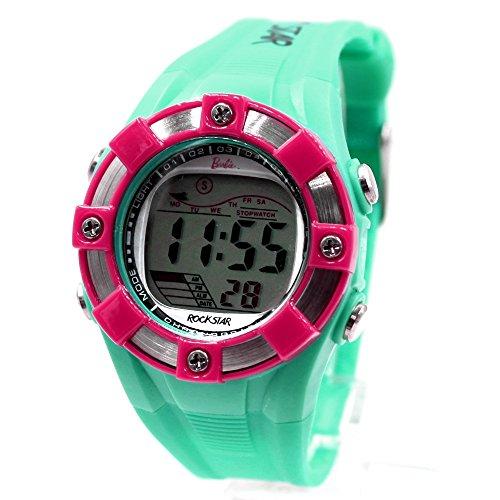 ukdw442d Chronograph PNP matt silber Luenette Wasser widerstehen Damen Frauen Digitale Armbanduhr