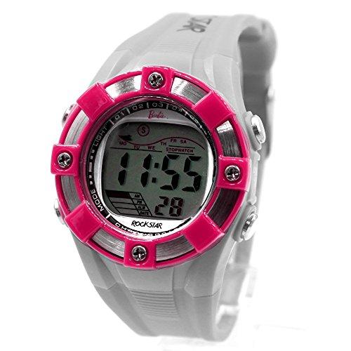 ukdw442g weiss Watchcase Chronograph Alarm Wasser widerstehen Damen Frauen Digitale Armbanduhr