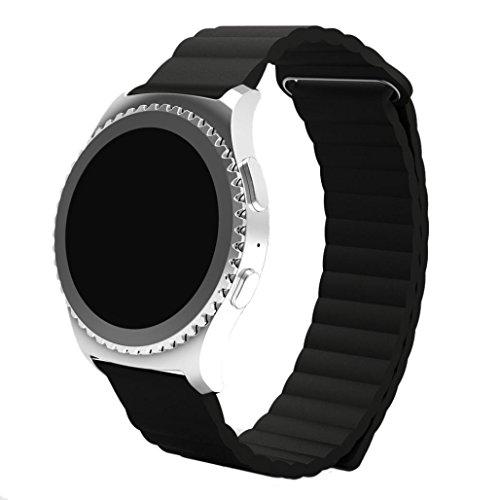 Fuer Samsung Galaxy Gear S2 Uhrbaendern Amlaiworld PU Leder Loop Typ Uhrbaendern Falle fuer Samsung gears2 klassische SM R732