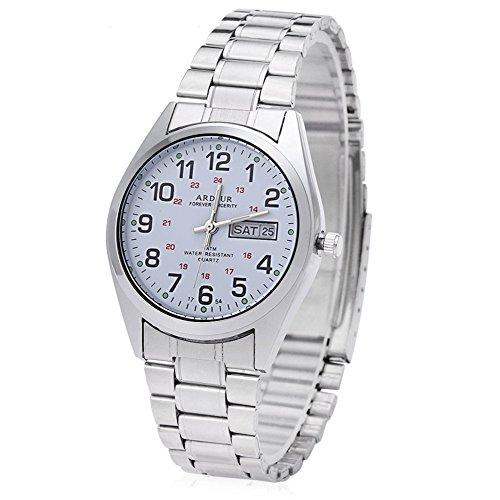Leopard Shop Begeisterung 1754 Herren Quarz Armbanduhr Datum Tag Display Luminous 5 ATM Armbanduhr 4