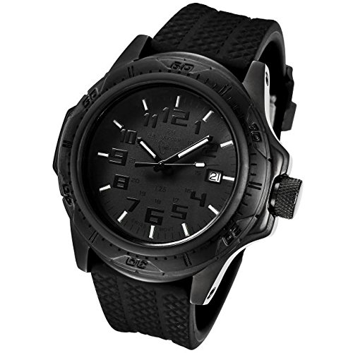 Armourlite Phantom Shatterproof Scratch Resistant Glass Tritium Watch AL41