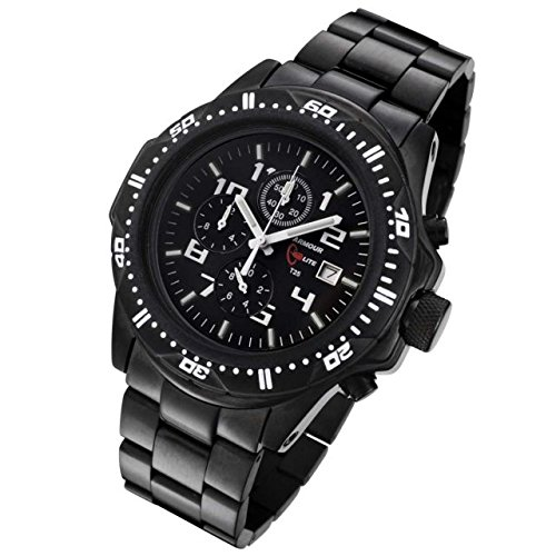 Armourlite Shatterproof Scratch Resistant High Impact Glass Tritium Chronograph Watch AL45