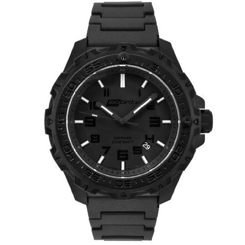 Isobrite Eclipse ISO212 Black Green Watch Polyurethane