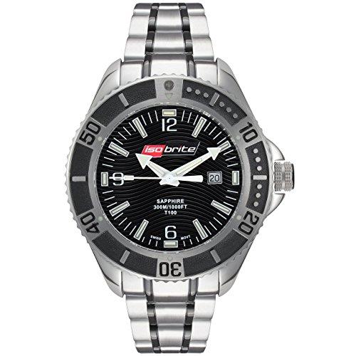 isobrite Edelstahl Master Diver Serie Armbanduhr iso501