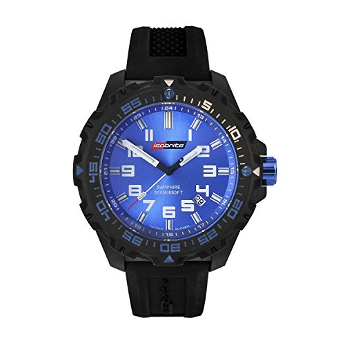 ISOBrite T100 Valor Series Black Blue Watch ISO301