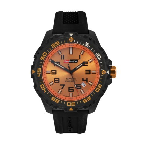 Isobrite Valor Series ISO302 Orange Dial Watch