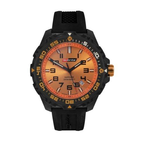 Isobrite Valor Series ISO302 Orange Dial Watch