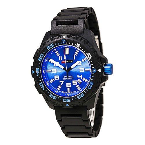 Isobrite Valor ISO311 Black Blue Watch Polyurethane