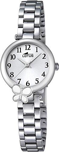 LOTUS Jugend Uhr Junior Collection Analog Edelstahl Armband silber Chronograph Uhr Ziffernblatt silber UL18262 1