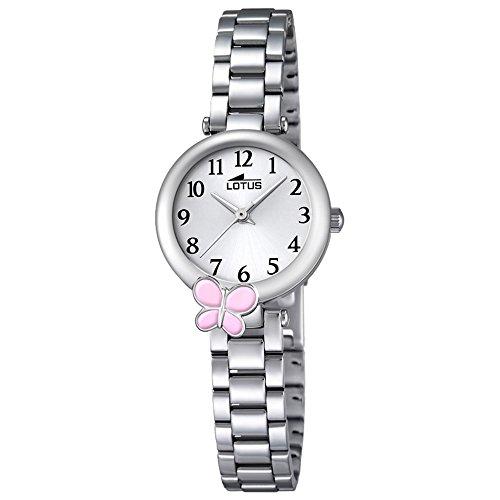 LOTUS Jugend Uhr Junior Collection Analog Edelstahl Armband silber Chronograph Uhr Ziffernblatt silber UL18262 2