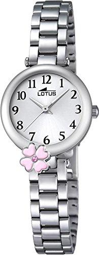 LOTUS Jugend Uhr Junior Collection Analog Edelstahl Armband silber Chronograph Uhr Ziffernblatt silber UL18266 2
