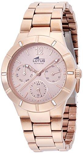 Lotus Damen Armbanduhr Analog Quarz Edelstahl 15915 2