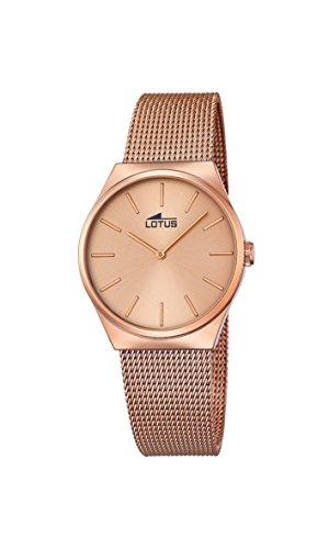 Lotus Damen Armbanduhr Analog Quarz Edelstahl 18289 2