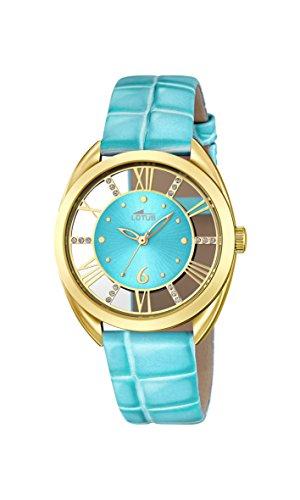 Lotus Damen Armbanduhr Analog Quarz Leder 18225 2