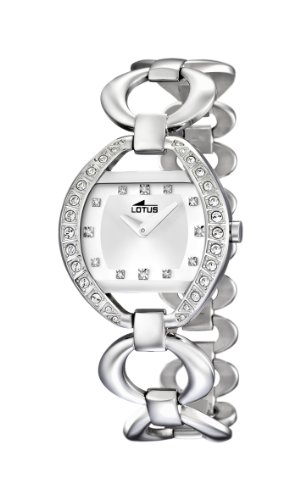Lotus Damen Armbanduhr XS Analog Quarz Edelstahl 15717 1