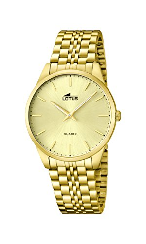 Lotus Herren Armbanduhr XL Analog Quarz Edelstahl 15885 3