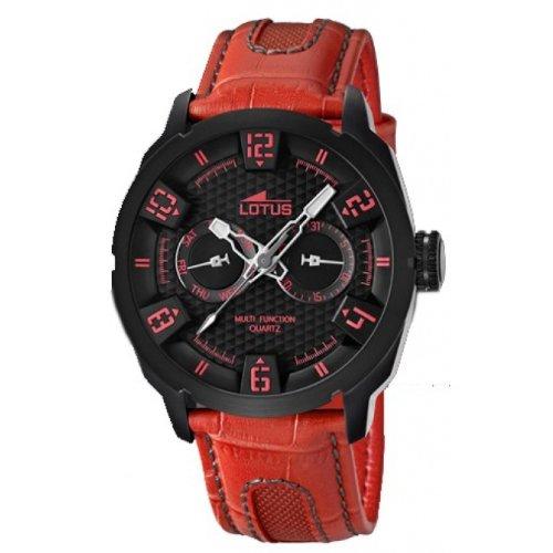 Lotus Herren Armbanduhr XL Analog Leder 15788 3
