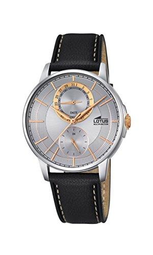 Lotus Herren Armbanduhr Analog Quarz Leder 18323 1