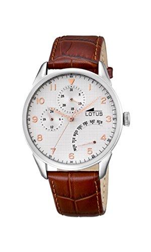 Lotus Herren Armbanduhr Analog Quarz Leder 10131 1